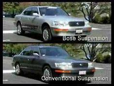 Bose active suspension