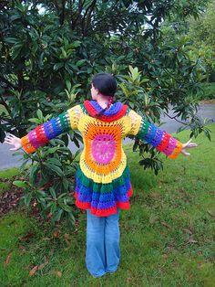 Ravelry: NyanPon's Technicolor Dream Coat