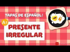 Presente irregular en español (1/2) - Spanish Irregular Verbs in Present Tense - YouTube