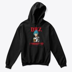 COMFORTABLE DBZ VEGETA HOODY - UNISEX AVAILABLE IN ALL SIZES