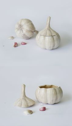 Ceramic Clay, Ceramic Painting, Ceramic Pottery, Garlic Jar, Ceramics Monthly, Cerámica Ideas, Coil Pots, Ceramics Projects, Pottery Studio