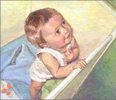 schilderij uit bedje gehaald worden Baby Photos, Disney Characters, Fictional Characters, Disney Princess, Painting, Cards, Design, Kunst, Pictures