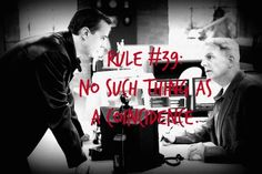 Gibbs' Rule #39. There is no such thing as a coincidence. Season 7, episode 21