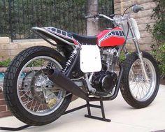 yamaha tt xt 500 | yamaha 500 flat tracker | Uploaded to Pinterest