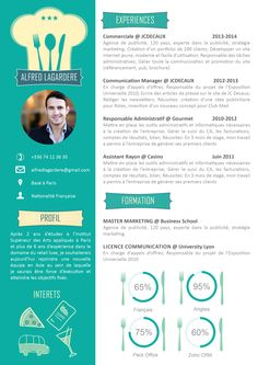 46 best CV Originaux images on Pinterest | Resume, Cv design and ...