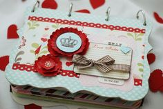 Project - Love {Notes} Mini Album (created with Cupid Pink Paislee) by Suzanne Sergi