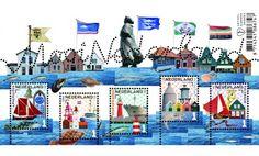 Mooi Nederland 2016: Vissersplaatsen Verzamelvel - Postzegelvellen - Postzegelproducten