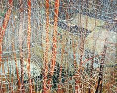 Peter Doig (Scottish b. 1959), Architect's Home in the Ravine, oil on canvas, 200cm x 275cm, 1991.