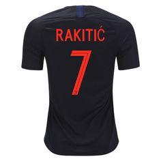 5b798f778 2018 World Cup Jersey Croatia Away Rakitic Replica Black Shirt