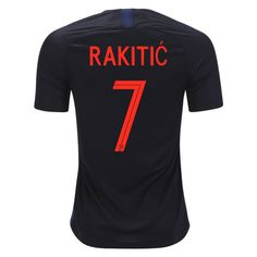 Fussball Trikots Kroatien WM 2018 Mario Mandzukic 17