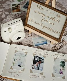 Forgo a traditional guest book and try these creative alternatives for your wedding keepsake.