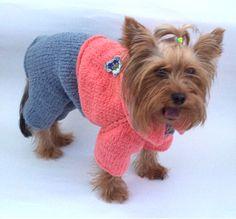 вязаная одежда для собак обсуждение на Liveinternet российский