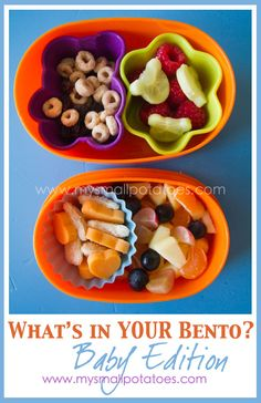 3 Great Reasons for Making Bento Lunches for YOUR baby...via www.mysmallpotatoes.com