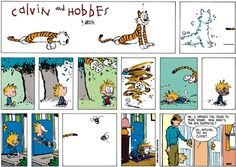 Calvin and Hobbes Comic Strip  for Oct/26/2014  on GoComics.com
