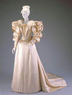 Wedding Gown | c. 1893