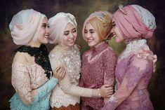 Inspirasi Kebaya Brokat Muslim Modern 2017