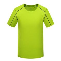 MEN'S SPRING SUMMER QUICK DRY BREATHABLE TOP SHIRTS TREKKING FISHING MALE SHORT SLEEVE MA086