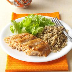 Salmon with Brown Sugar Glaze Recipe -I was not a salmon lover until I tried this recipe. Now it is one of my favorite dishes to serve friends. —Rachel Garcia, Arlington, Virginia