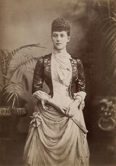 VINTAGE PHOTOGRAPHY: Princess Alexandra of Wales 1880s