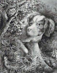 Dog Hunting PDF Cross Stitch Pattern by XSquaredCrossStitch