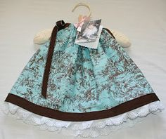 Sweetie Pie: Baby Pillowcase Style Dress with Diaper Cover Tutorial DIY
