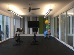 Float into a Peloton Bike at our floating yoga room inside our State of the Art Fitness Center. Peloton Bike, Apartment Communities, Luxury Apartments, State Art, Pearl, Yoga, Workout, Fitness, Furniture