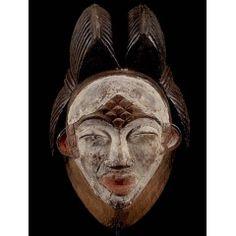 Punu [Габон], 32 см Buddha, Skull, Statue, Art, Art Background, Kunst, Performing Arts, Sculptures, Skulls