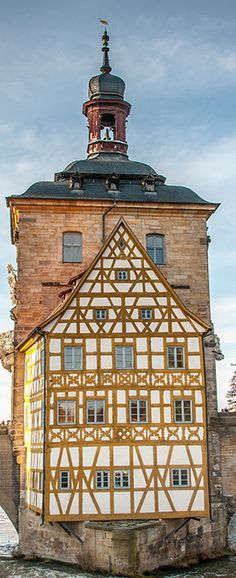 The Town Hall in the City of Bamberg, Germany