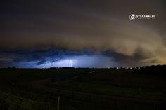 Large Shelfcloud illuminated by lightning - Caught this Shelfcloud near the town of Zuidland located in the Netherlands. The storm caused local flashfloods and wind damage on its passage.