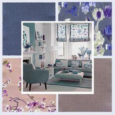 #натуральные_ткани из коллекции #AQUARELLE #Galleria_Arben - сделайте ваше #лето уютнее! #decoration #ткани #fabric