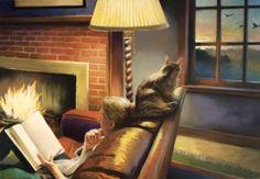 Reading and Art - Deborah DeWit