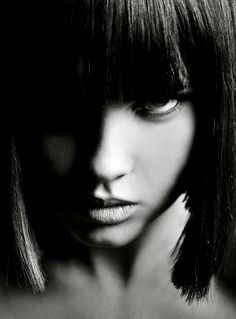 black and white photography portrait Dark Beauty, Gothic Beauty, Color Splash, Color Pop, Portraits, Look At You, Yin Yang, Black And White Photography, Monochrome Photography