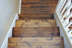 What if we covered the steps in SH with pine and stained them?Minwax Special Walnut on Pine - DEFINITELY like this combo, and if we make pine plank floors. Pine Wood Flooring, Pine Floors, Plank Flooring, Farmhouse Flooring, Stone Flooring, Flooring Ideas, Minwax Stain Colors, Pine Stain Colors, Wood Colors