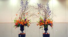 Stunning arched flowers for a wedding created by Erik Witcraft AIFD- Flowers Washougal