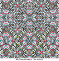 Ethnic boho tribal seamless pattern. Tribal art print. Background texture, wallpaper