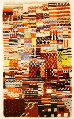 Otti Berger Knotted carpet 1929