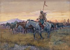 Charlie Russel and the First Calgary Stampede. June 2-July 29 at Glenbow Museum. Fantastic one-in-a-lifetime collection of his work.