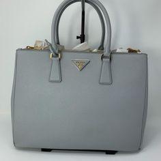 9c20653f6c04 Prada Lux Large Saffiano Granito Leather Satchel - Tradesy Leather Satchel,  Prada, Retail,