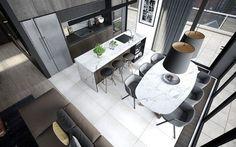 Design a Chic Modern Space Around a Brick Accent Wall | Interior Design Ideas | Bloglovin'