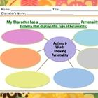 Use this PDF Bubble Map with any literature character! Students select a character from text they read and then provide evidence of actions and spo...