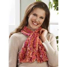 Free Boa Slotted Scarf Knit Pattern
