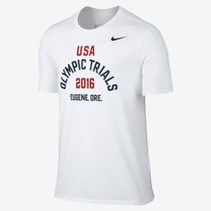 Nike Team USA 2016 Olympic Trials Men's T-Shirt. Nike.com