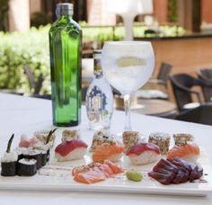 Maridaje de moda: gin con sushi