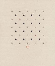 "Saatchi Online Artist: Slavomir Zombek; Paper, 2005, Assemblage / Collage ""GARDEN OF CHERRIES N°01"""