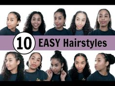 10 Low Maintenance Hairstyles For Lazy Curly Girls