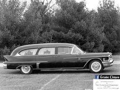 1958 Cadillac Eureka limousine style hearse. Photo credit: Thomas A. McPherson Collection. #Cadillac #Eureka #limousine #hearse #RockFalls #Illinois