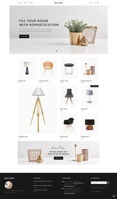 Interior Design Website, Website Design Layout, Web Layout, Website Design Inspiration, Decor Interior Design, Layout Design, Color Interior, Nordic Interior, Cafe Interior