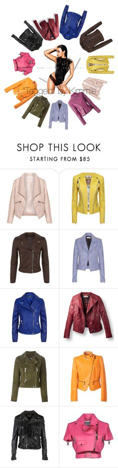 """""""For the love of leather!!!!"""" by taggedbykimmie15 on Polyvore featuring Zizzi, Miss Selfridge, Balenciaga, Armani Jeans, Versus, Relaxfeel, Yves Saint Laurent, Moschino, Dsquared2 and women's clothing"""