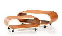 Large Velodrome Table, varnished cherry, 930x350x480mm via Velodrome. Click on the image to see more!
