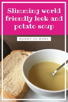 Leek and potato soup in my Morphy Richards sauté and soup maker Good Healthy Recipes, Gourmet Recipes, Delicious Recipes, Baking Recipes, Tortillas, Morphy Richards Soup Maker, Slimming World Soup Recipes, Ramen, Potato Leek Soup